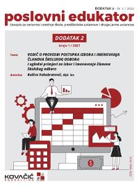 Časopis  Poslovni Edukator 1/2021 DODATAK 2